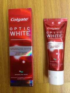 Toothpaste white anticavity fluoride toothpaste