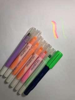 Gel -hilighter (Crayon )