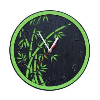 Jam Dinding Karakter CYM Model Bamboo
