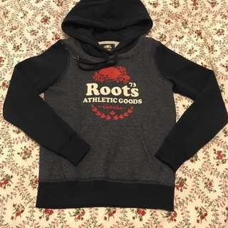 🚚 Roots 刷毛長袖帽T