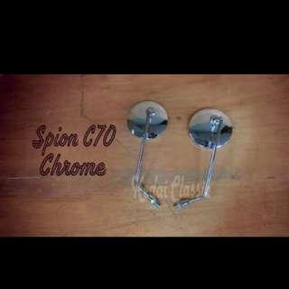 C70 side mirror chrome