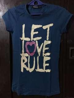 Next Blue Statement Shirt