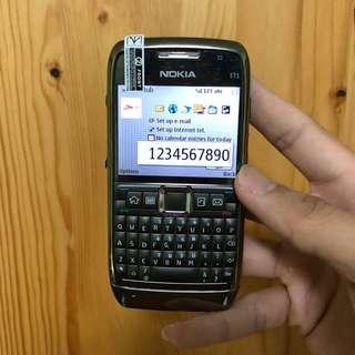 Nokia E71 (3G+Wifi) Classic Edition