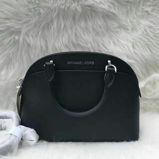 Readystock. Michael Kors Emmy Small Dome in Black