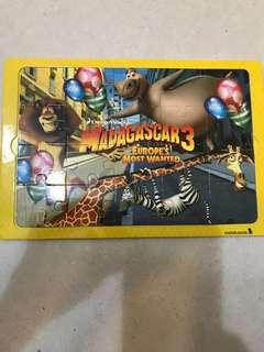 Madagascar Zig Saw Puzzle