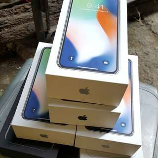 For Sale IPhone X 64GB silver/space gray