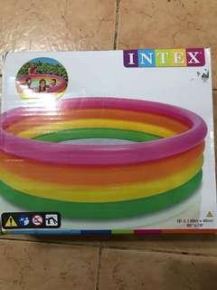 Intex kiddie pool!!
