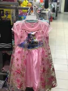Pink Frozen Dress