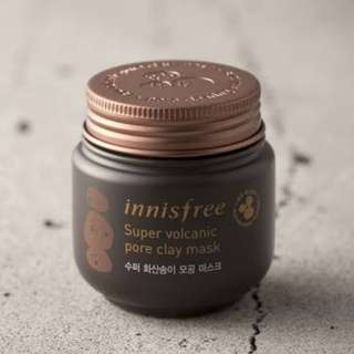 Innisfree volcanic clay pore mask