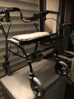 Used walker good shape with brakes