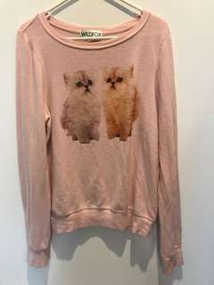 WILDFOX kitten jumper (amazing soft material)