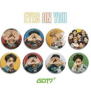 GOT7 UNOFFICIAL BUTTON BADGE