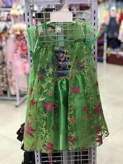 Green Frozen Dress