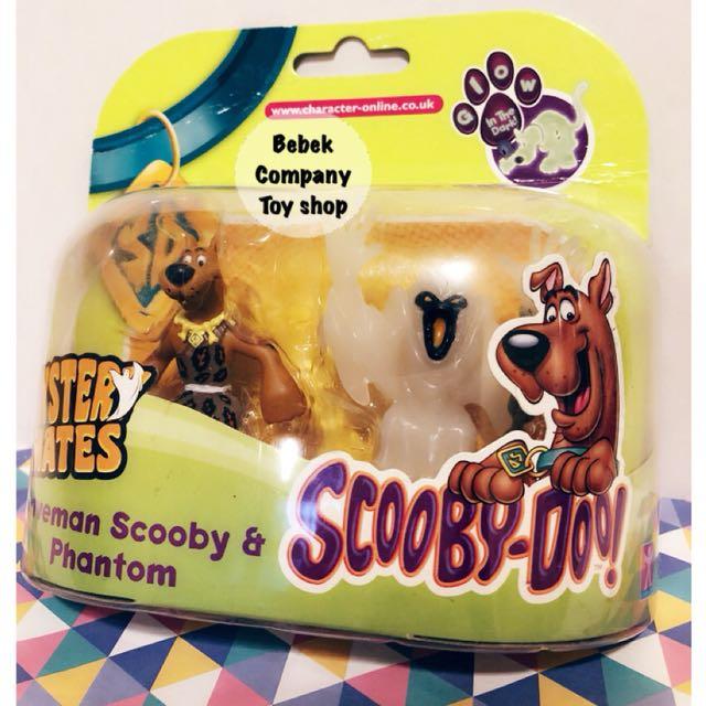 2014 CN Hanna barbera scooby doo 卡通頻道 史酷比 叔比狗 公仔 吊卡 絕版玩具 全新
