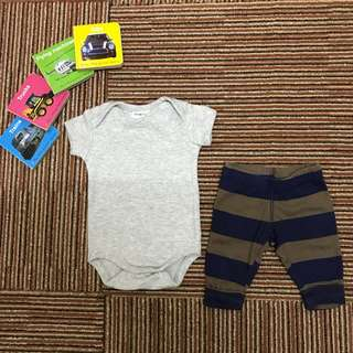 Baby Romper and Jogger pants