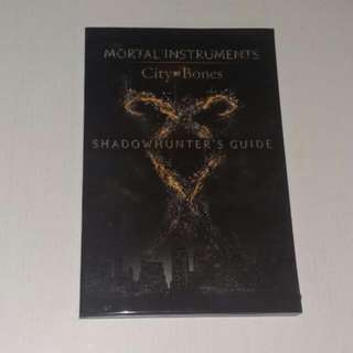 The Mortal Instruments City Of Bones ShadowHunter's Guide Book