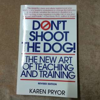 Book on training behaviour and habit for animal & human