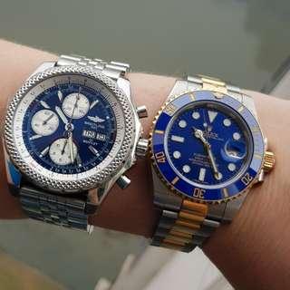 勞力士ROLEX Submariner 116613LB sunbrust blue