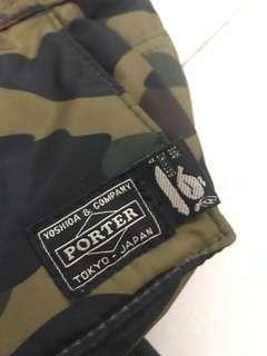 迷彩Porter腰包