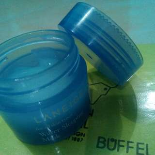 Laneige water sleeping mask skincare wanita korea