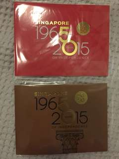 SG50 Commemorative stamps