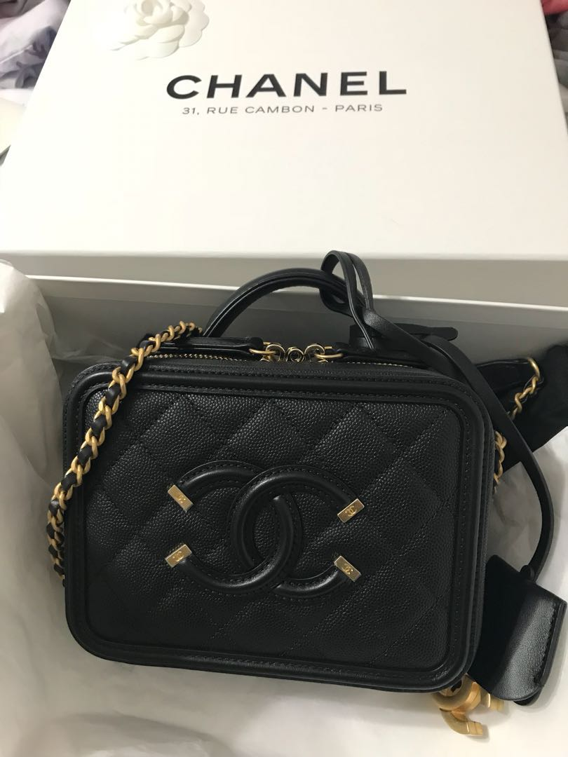 b448a0a97ae8 2018 Spring Summer collection 🌈Authentic Chanel Small CC Vanity ...
