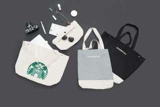 Starbucks Tote Bag - 1 each for each color