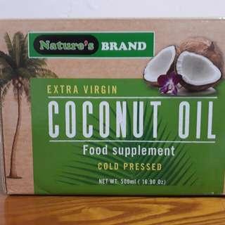 Nature's 冷壓初榨椰子油