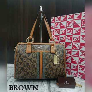 Bonia Boston Brown Color
