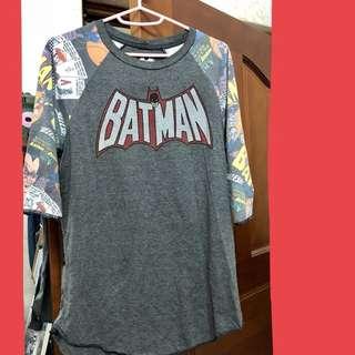 蝙蝠俠七分袖M號|泰國購入