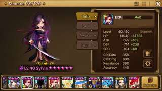 Summoners War Sylvia (Asia)