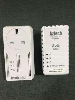 Aztech Homeplug AV 500Mbps wifi extender