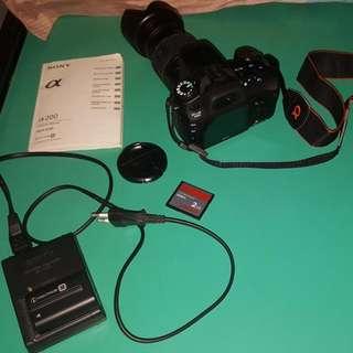Sony Alpha DSLR-A200 Camera