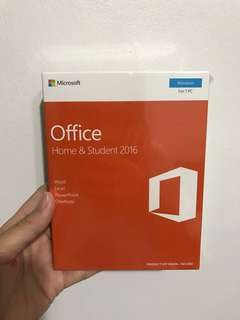 Microsoft Office - Home & Student 2016