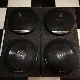 Pioneer speaker 6inches original with speaker box