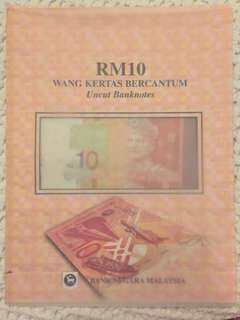 1983-1997 Malaysia currency uncut banknotes UNC RM10