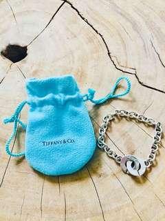 Tiffany & Co Unique Link Silver Bracelet - authentic