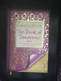 The Book of Tomorrow by Cecelia Ahearn #bajet20
