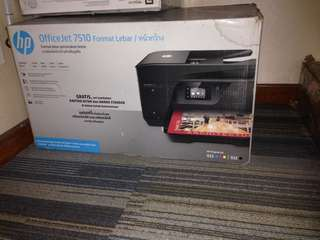 HP officeJet 7510 second kondisi 100%