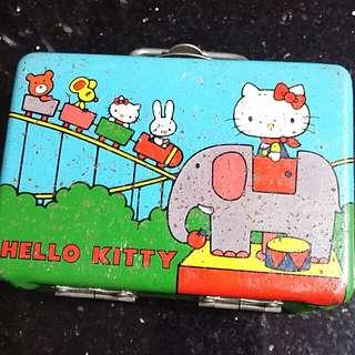 (八十年代出品) Hello Kitty <第一代>絕版鐵盒