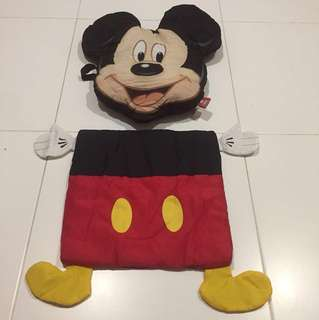 Mickey Mouse seat cushion