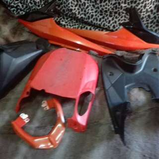 Mio MXi 125 color orange flaring only