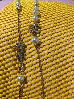 Seahorse Chanel necklace Long