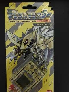 Digimon 20th anniversary (Gold)