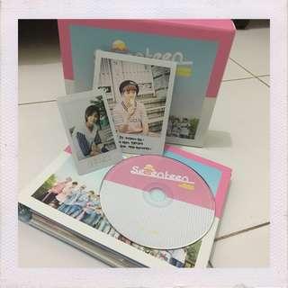 seventeen - love & letter repackage. jeonghan pc & seungkwan polaroid.