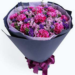 Flower Bouquet∕Hand Bouquet∕Birthday Bouquet∕Anniversary Bouquet∕Proposal Bouquet - 8AD0