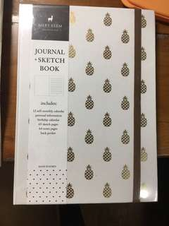 BN - Mery keem pineapple notebook (from naiise)