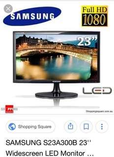 "Samsung 23"" S23A300B Monitor"