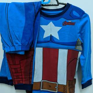 Marvel kids clothes