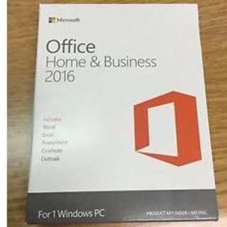Microsoft Office 2016 Home & Business Box Set